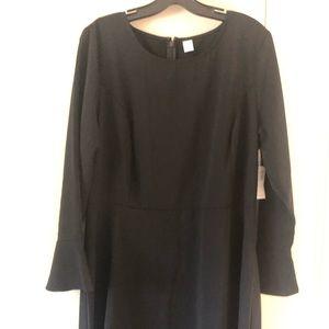 Old navy LTall black dress